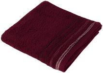 HANDTUCH 50/100 cm Bordeaux  - Bordeaux, KONVENTIONELL, Textil (50/100cm) - Esposa