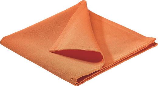 SERVIETTE Textil Orange 40/40 cm - Orange, Basics, Textil (40/40cm)