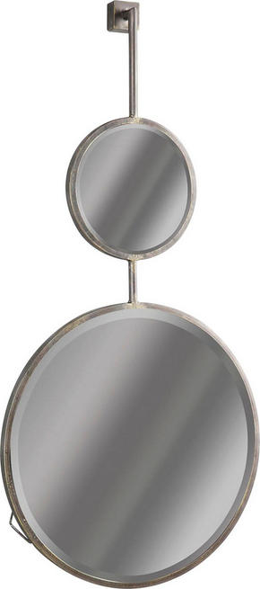 SPEGEL - svart, Design, metall/glas (46/87/10cm) - Ambia Home