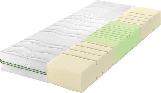 KALTSCHAUMMATRATZE 100/200 cm - Weiß, Basics, Textil (100/200cm) - Schlaraffia