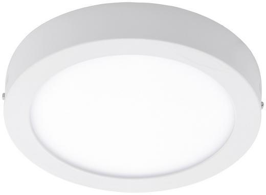 LED-DECKENLEUCHTE - Weiß, Design, Kunststoff/Metall (22,5cm)