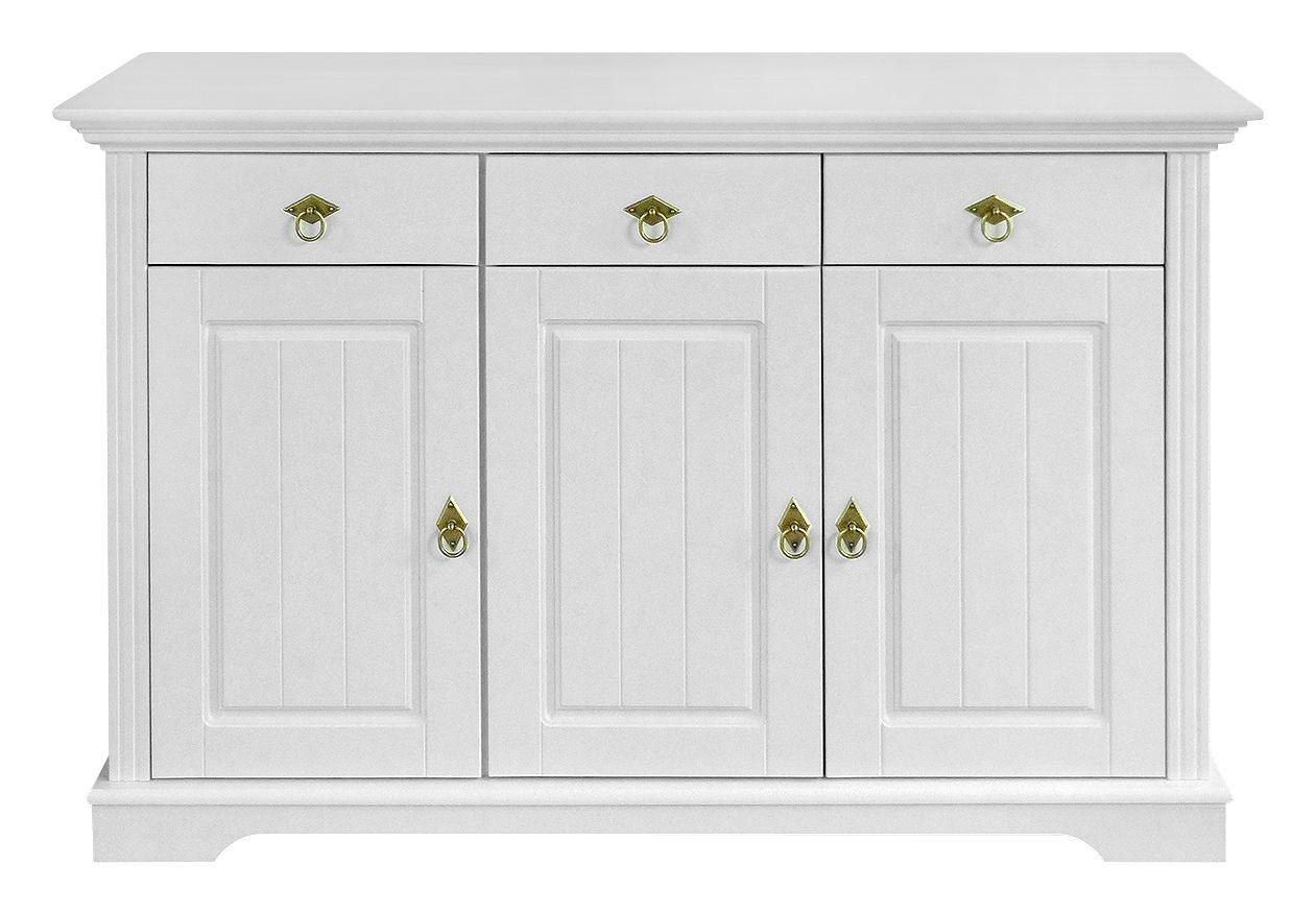 Kommode Kiefer Wei Affordable Cheap Simple Sideboard Wei Braun With
