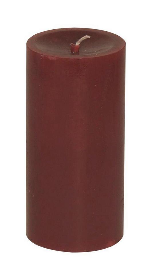 STUMPENKERZE - Dunkelrot, Basics (5,8/12cm) - Ambia Home