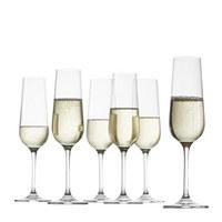 Sektglas-Set 6-teilig - Klar, Glas (7/23cm) - LEONARDO
