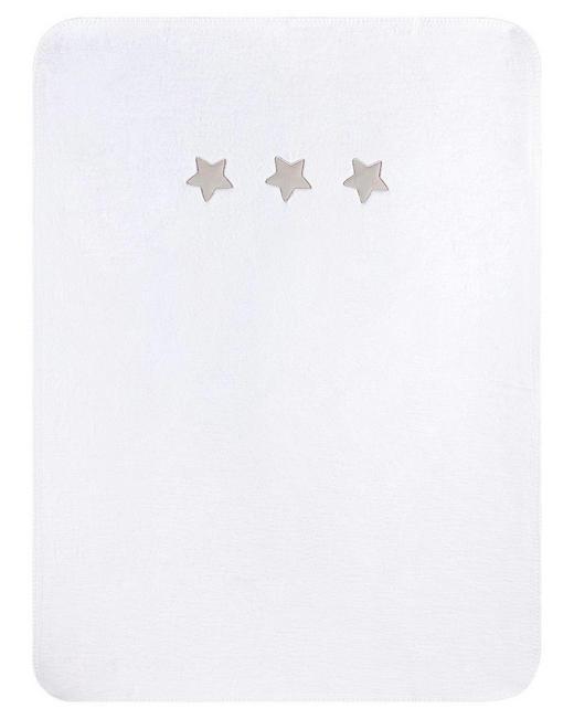 SCHMUSEDECKE - Weiß, Basics, Textil (75/100cm) - Zöllner