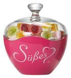 DOSE - Klar/Pink, Basics, Glas (13cm) - RITZENHOFF BREKER