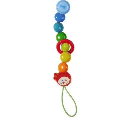 SCHNULLERKETTE 0 Monat(e) - Multicolor, Basics, Holz/Kunststoff (22cm) - Haba