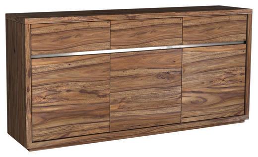 SIDEBOARD Sheesham massiv gebeizt Sheeshamfarben - Sheeshamfarben, Natur, Holz (175/85/45cm) - Carryhome