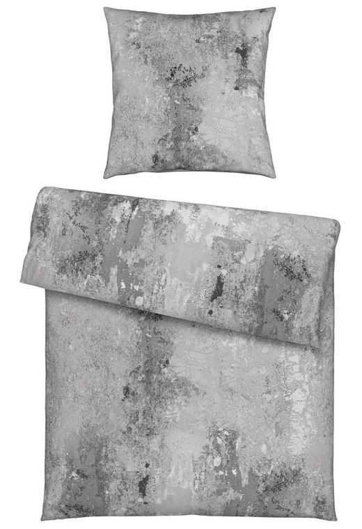 BETTWÄSCHE Satin Hellgrau 135/200 cm - Hellgrau, KONVENTIONELL, Textil (135/200cm) - Novel