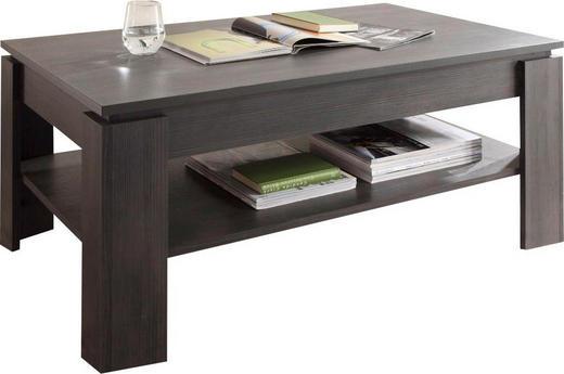 COUCHTISCH rechteckig Grau - Grau, Design (110/65/47cm) - Carryhome