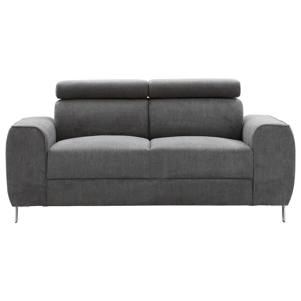 Ti`me Zweisitzer-sofa struktur graphitfarben