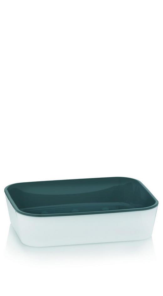 SEIFENSCHALE - Weiß/Grau, Basics, Kunststoff (12/9/3cm)