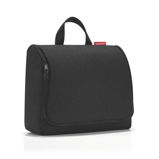 TOILETBAG XL BLACK - Schwarz, Basics, Textil (28/25/10cm) - Reisenthel