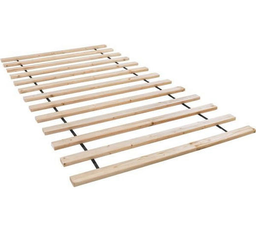 ROLLROST 90/200 cm  - Fichtefarben, Basics, Holz (90/200cm)