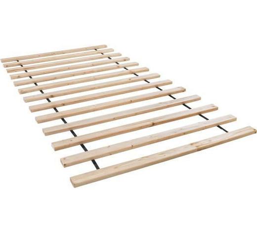 ROLOVACÍ ROŠT, 140/200 cm - barvy smrku, Basics, dřevo (140/200cm)