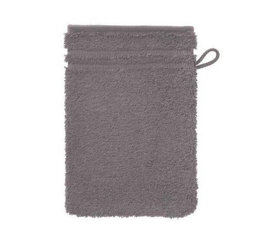 WASCHHANDSCHUH - Taupe/Grau, Basics, Textil (16/22cm) - Vossen
