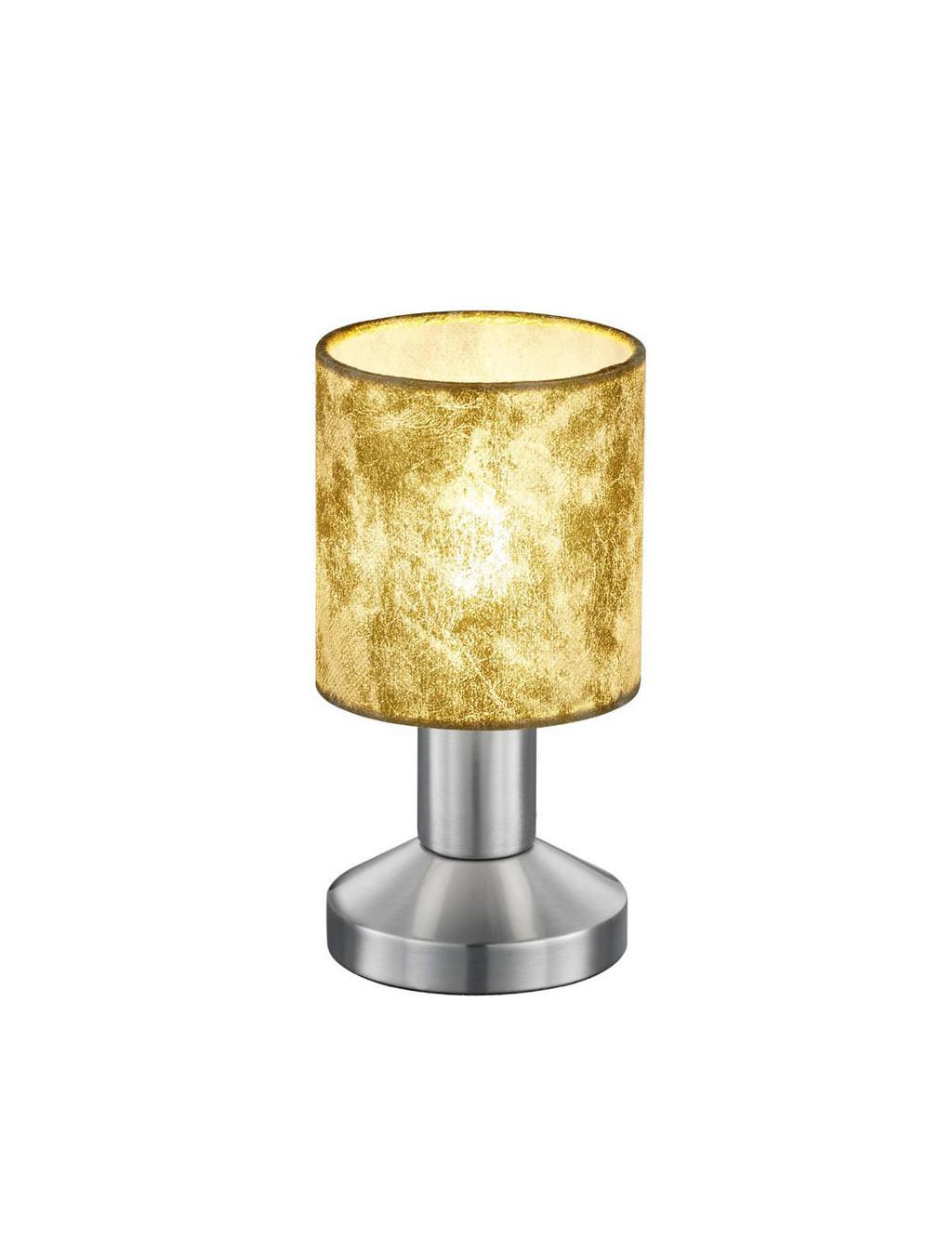 XXXL TISCHLEUCHTE, Gold, Silber