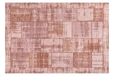 FLACHWEBETEPPICH  130/190 cm  Rosa - Rosa, Textil (130/190cm) - Novel