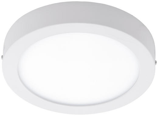 LED-DECKENLEUCHTE - Weiß, Design, Kunststoff/Metall (22,5/4cm)