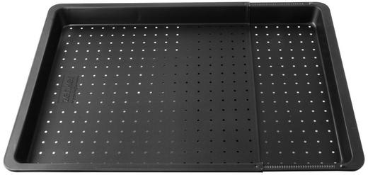 BACKBLECH - Schwarz, Basics, Metall (37-52/33/3cm) - Dr.Oetker