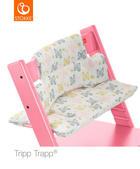 HOCHSTUHLEINLAGE Tripp Trapp - Gelb/Rosa, Trend, Textil (28/21/7cm) - Stokke