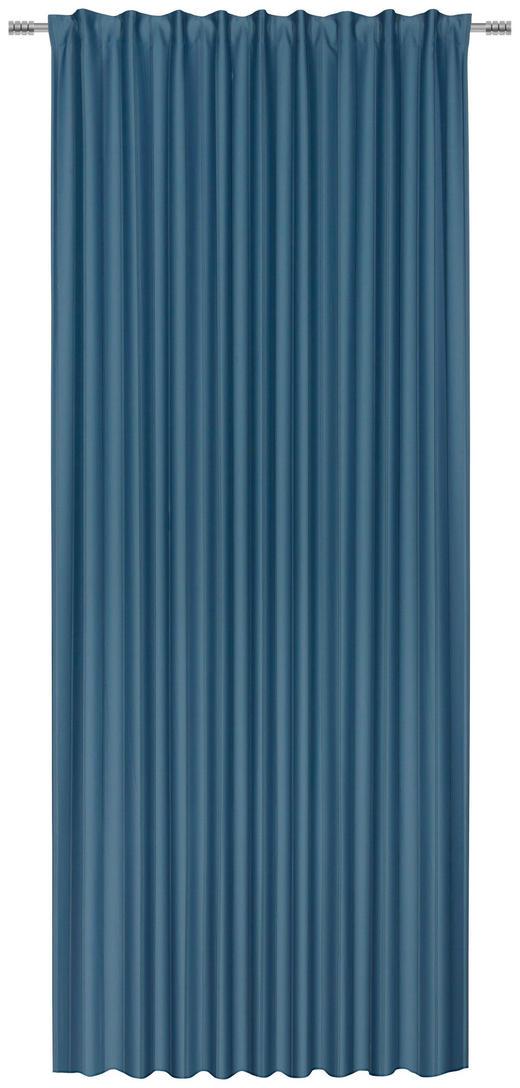 FERTIGVORHANG  black-out (lichtundurchlässig)  140/260 cm - Petrol, KONVENTIONELL, Textil (140/260cm) - Esposa