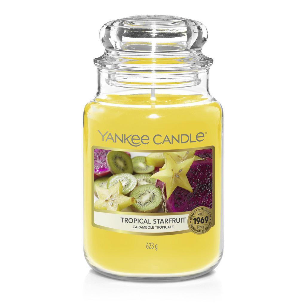 Yankee Candle Duftkerze yankee candle tropical starfruit