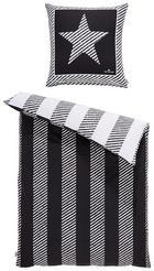 BETTWÄSCHE Biber Grau 135/200 cm - Grau, MODERN, Textil (135/200cm) - Tom Tailor