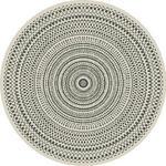 OUTDOORTEPPICH   Naturfarben, Schwarz   - Schwarz/Naturfarben, Design, Textil (160cm) - Novel