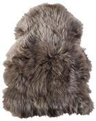 KŮŽE OVČÍ - hnědá, Konvenční, textil (65/45cm) - LINEA NATURA