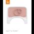 Platzset für Steps Pink  - Altrosa, Basics, Kunststoff (38/21/3cm) - Stokke