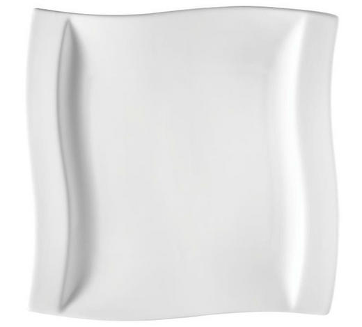 SPEISETELLER Keramik Porzellan  - Weiß, KONVENTIONELL, Keramik (26/26,5cm) - Novel