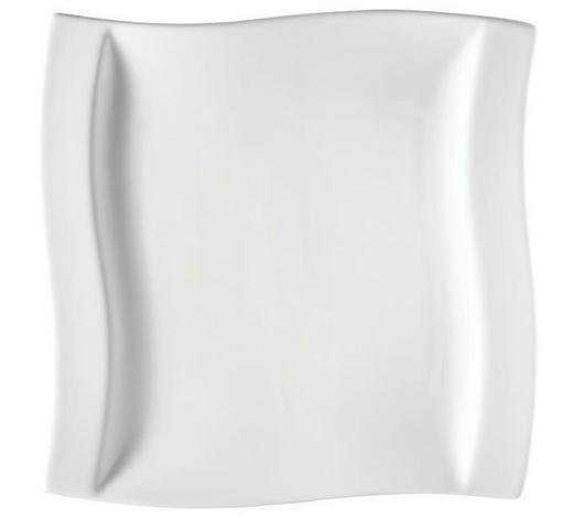 TALÍŘ JÍDELNÍ, porcelán - bílá, Konvenční, keramika (26/26,5cm) - Novel
