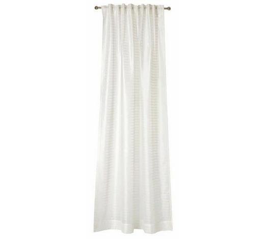 VORHANGSCHAL  transparent  130/250 cm   - Weiß, Design, Textil (130/250cm) - Joop!