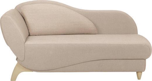 LIEGE in Textil Beige - Beige, KONVENTIONELL, Holz/Textil (171-190/87/84cm) - Joka