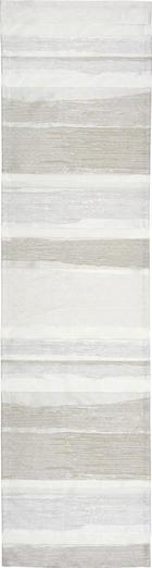 """UBRUS """"BĚHOUN"""" NA STŮL - šedohnědá, Konvenční, textil (45/165cm)"""
