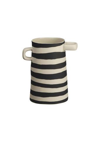 VAZA - črna/bež, Basics, keramika (11/17cm) - ASA