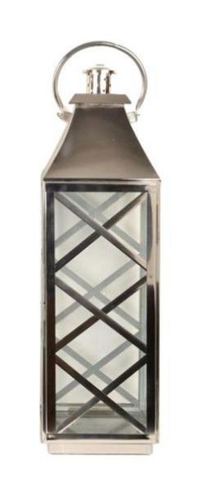 LYKTA - silver, Klassisk, metall/glas (76cm) - Ambia Home