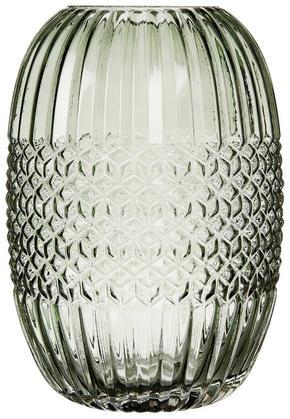 VAS - grön, Basics, glas (15,5/25cm) - Ritzenhoff Breker