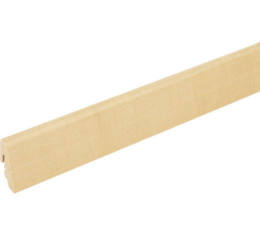 SOCKELLEISTE Ahornfarben  - Ahornfarben, Basics, Holz/Holzwerkstoff (240/1,9/3,85cm) - Homeware
