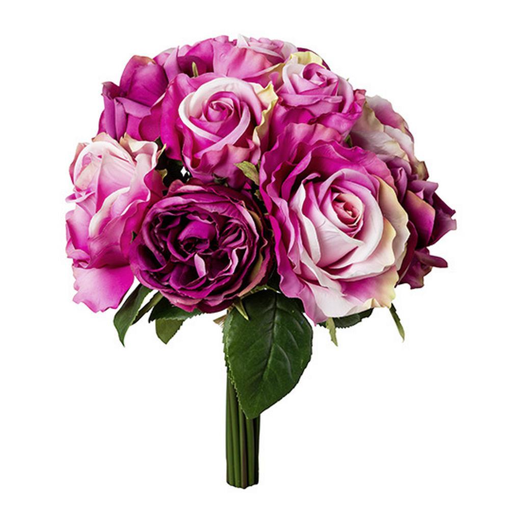 XXXLutz Dekostrauß rose