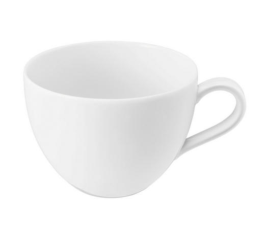 FRÜHSTÜCKSTASSE - Weiß, Basics, Keramik (12,8/10,1/7,3cm) - Seltmann Weiden