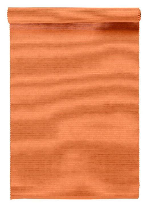 TISCHLÄUFER Textil Orange 45/150 cm - Orange, Basics, Textil (45/150cm) - LINUM