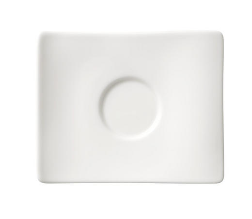 UNTERTASSE - Weiß, Basics, Keramik (14/11cm) - Villeroy & Boch