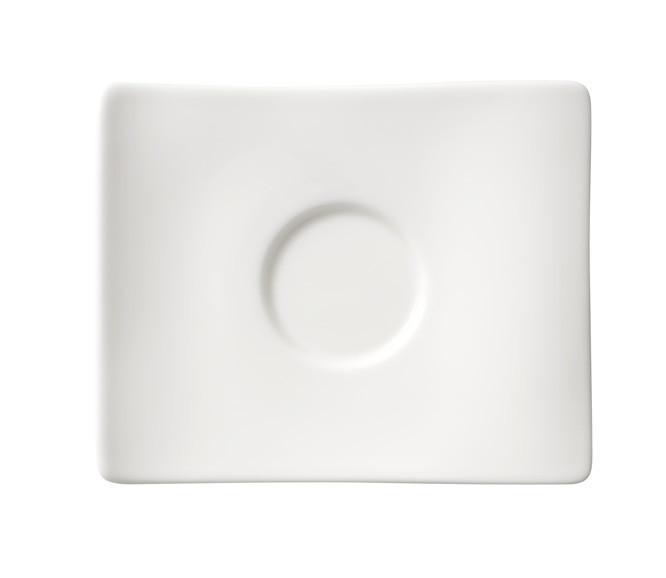 UNTERTASSE - Weiß, Basics (14/11cm) - VILLEROY & BOCH