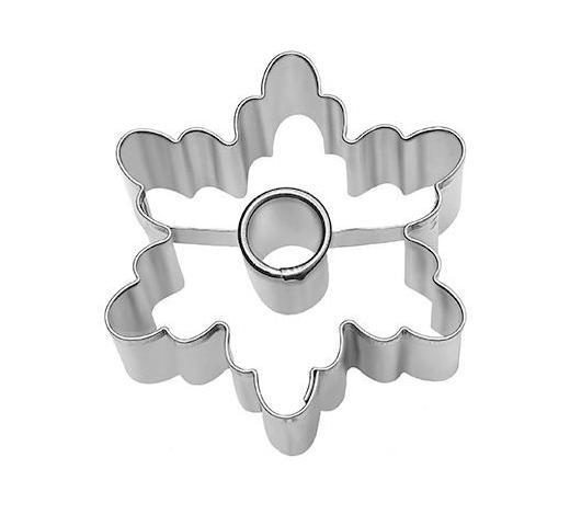KEKSAUSSTECHFORM - Edelstahlfarben, Basics, Metall (5/2,5/5cm) - Birkmann