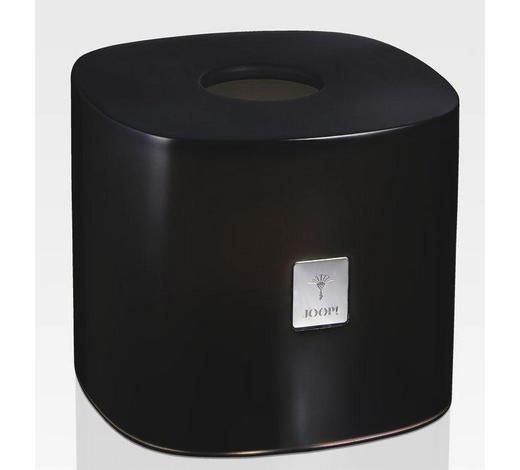 TASCHENTUCHBOX - Anthrazit, Kunststoff (16,2/16,2/13,5cm) - Joop!
