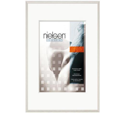 BILDERRAHMEN  Silberfarben - Silberfarben, Basics, Metall (70/90cm) - Nielsen