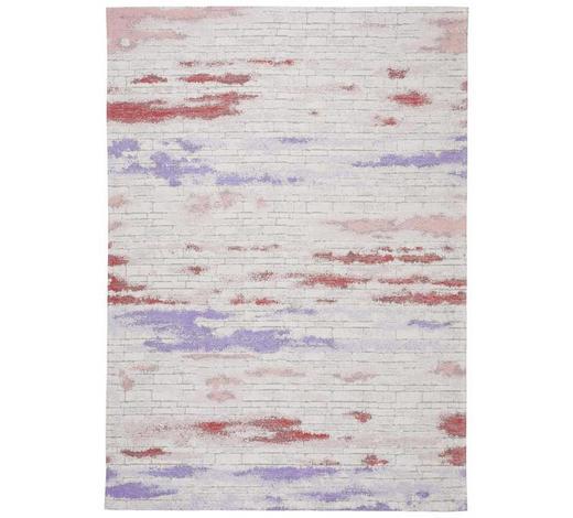 KOBEREC TKANÝ NA PLOCHO, 160/230 cm, fialová - fialová, Konvenční, textil (160/230cm) - Novel
