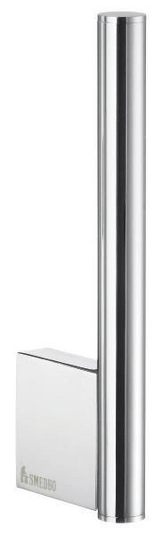 TOILETTENPAPIERHALTER - Chromfarben, Basics, Metall (1,5/17/5,6cm)